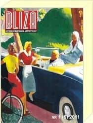 Okładka książki BLIZA - Gdyński Kwartalnik Artystyczny nr 1 (6) 2011 - Wokół Miłosza