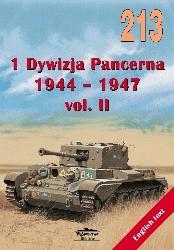 Okładka książki 1 Dywizja Pancerna 1944-1947 vol. II