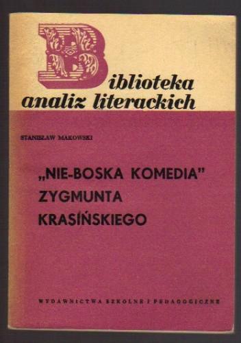 """Okładka książki """"Nie-Boska komedia"""" Zygmunta Krasińskiego"""