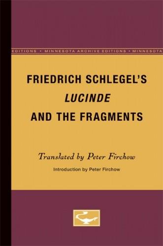 Okładka książki Lucinde and the Fragments