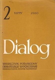 Okładka książki Dialog, nr 2 / luty 1980