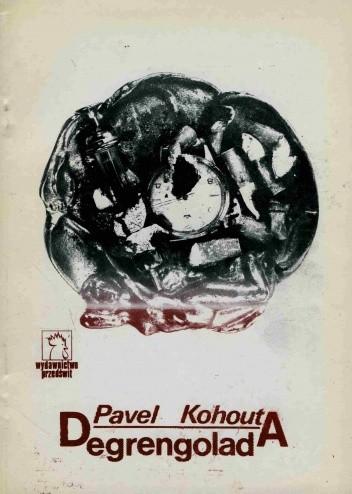 Okładka książki Degrengolada