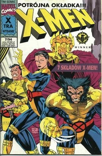 Okładka książki X-Men 7/1994