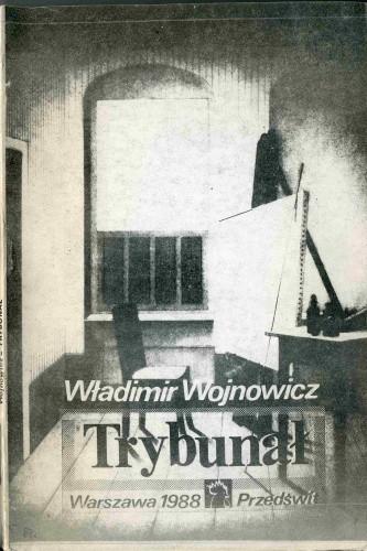 Okładka książki Trybunał