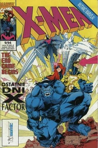 Okładka książki X-Men 9/1994