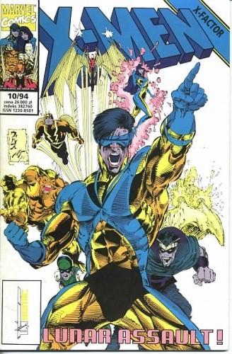 Okładka książki X-Men 10/1994