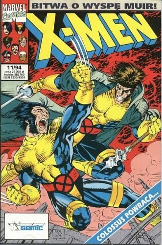 Okładka książki X-Men 11/1994