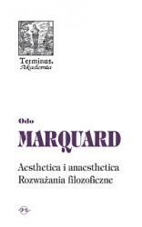 Okładka książki Aesthetica i anaesthetica. Rozważania filozoficzne