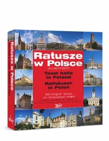 Okładka książki Ratusze w Polsce