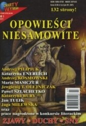 Okładka książki Opowieści niesamowite 1/2011