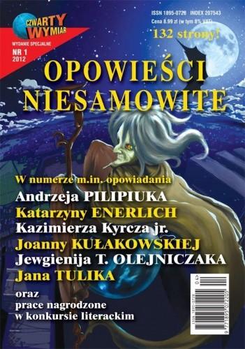 Okładka książki Opowieści niesamowite 1/2012