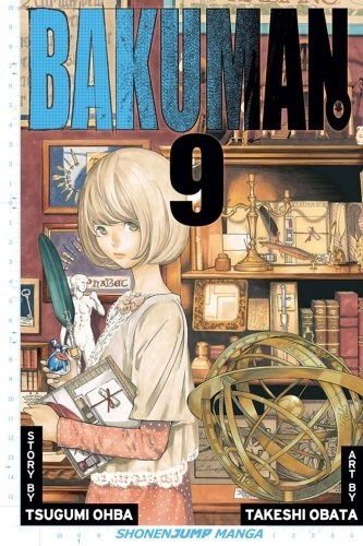 Okładka książki Bakuman Volume 09