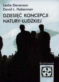 Okładka książki Dziesięć koncepcji natury ludzkiej