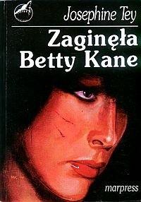 Okładka książki Zaginęła Betty Kane