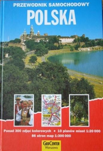 Okładka książki Polska: przewodnik samochodowy