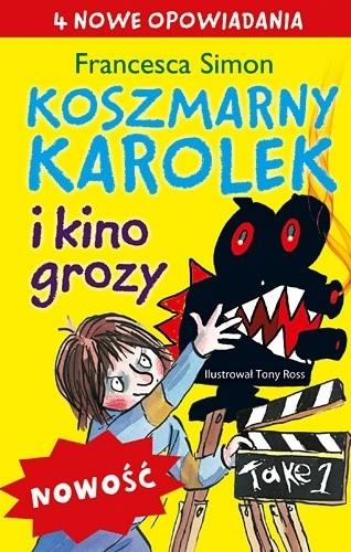 Okładka książki Koszmarny Karolek i kino grozy