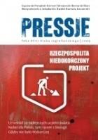 Okładka książki Pressje, teka 18 / 2009. Rzeczpospolita: niedokończony projekt
