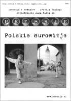 Okładka książki Pressje, teka 6-7 / 2006. Polskie eurowizje