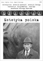 Okładka książki Pressje, teka 4 / 2004. Estetyka polska