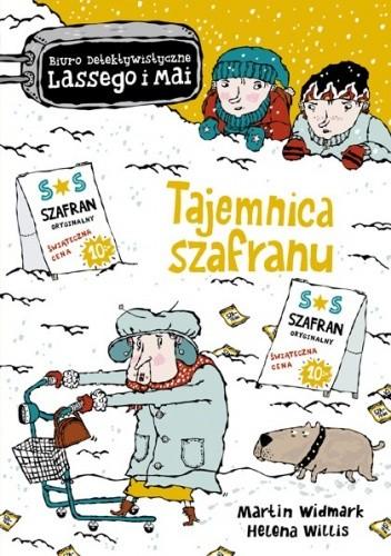 Okładka książki Tajemnica szafranu