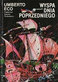 Okładka książki Wyspa dnia poprzedniego