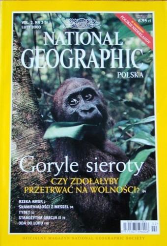 Okładka książki National Geographic 02/2000 (5)