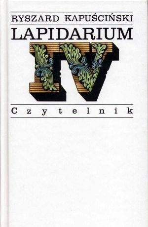 Okładka książki Lapidarium IV