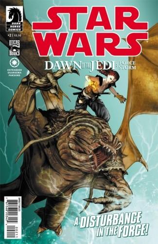 Okładka książki Dawn of the Jedi: Force Storm, Part 2