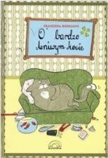 Okładka książki O bardzo leniwym kocie