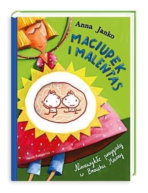 Okładka książki Maciupek i Maleńtas. Niezwykłe przygody w Brzuchu Mamy