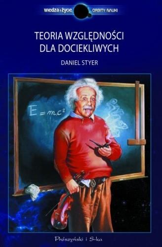 Okładka książki Teoria względności dla dociekliwych