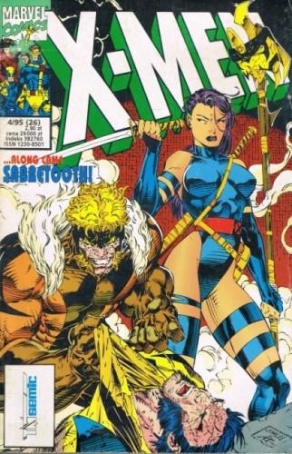 Okładka książki X-Men 4/1995