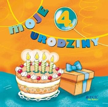 Okładka książki Moje 4 urodziny