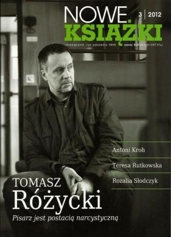 Okładka książki Nowe Książki, nr 3 (1117) / 2012