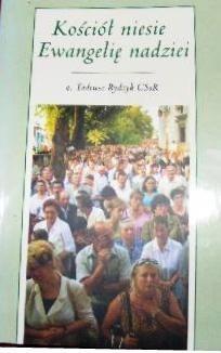 Okładka książki Kościół niesie Ewangelię nadziei