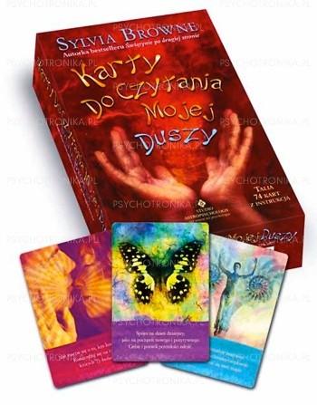 Okładka książki Karty do czytania mojej duszy