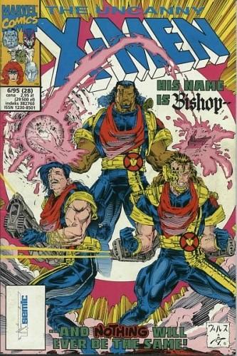 Okładka książki X-Men 6/1995