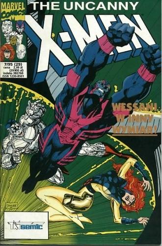 Okładka książki X-Men 7/1995
