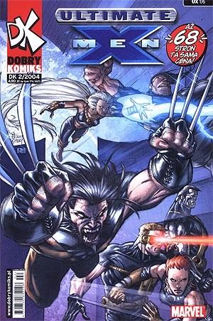 Okładka książki Ultimate X-Men #1