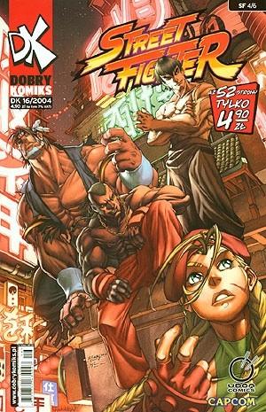 Okładka książki Dobry Komiks 16/2004 Street Fighter 4