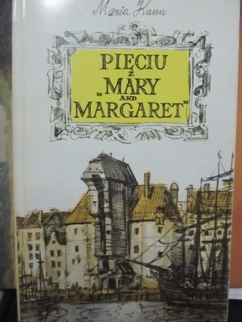 """Okładka książki Pięciu z """"Mary and Margaret"""""""