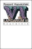 Okładka książki Lapidarium VI