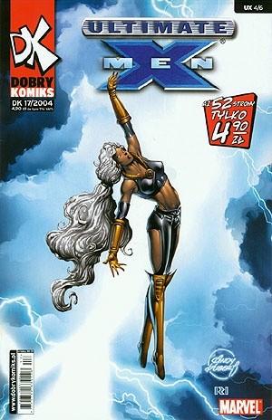 Okładka książki Ultimate X-Men #4