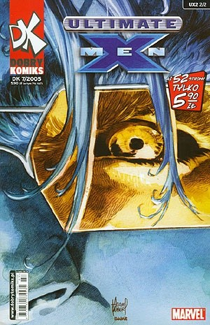 Okładka książki Ultimate X-Men #8