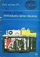 Okładka książki Fotografia mówi prawdę