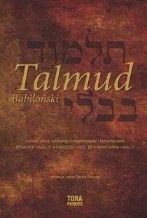 Okładka książki Talmud babiloński