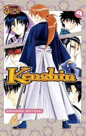 Okładka książki Kenshin, T. 9