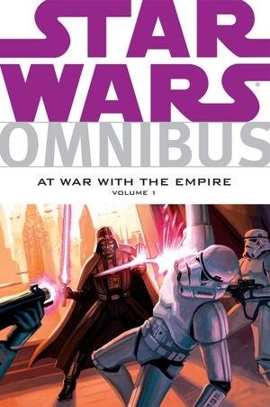 Okładka książki Star Wars Omnibus: At War with the Empire Volume 1