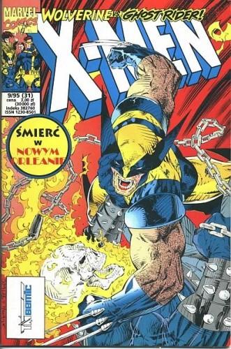 Okładka książki X-Men 9/1995