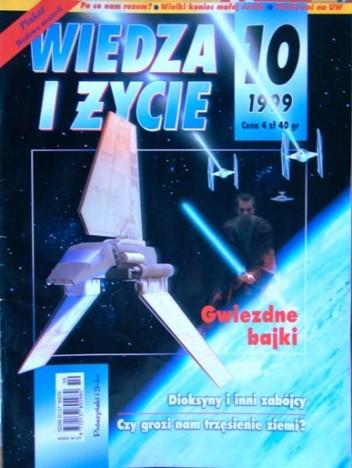 Okładka książki Wiedza i Życie 1999/10 (778)
